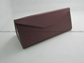 Triangle folding eyeglasses case