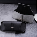 soft custom PU sunglasses case bag factory price