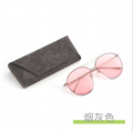 2019 Hot sell PU Leather handmade glasses case