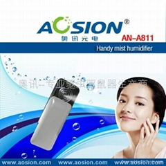 Personal mist humidifier