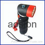 dynamo torch with alarm