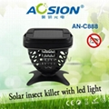 New solar insect killer lamp