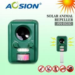 Ultrasonic Solar Animal Repeller