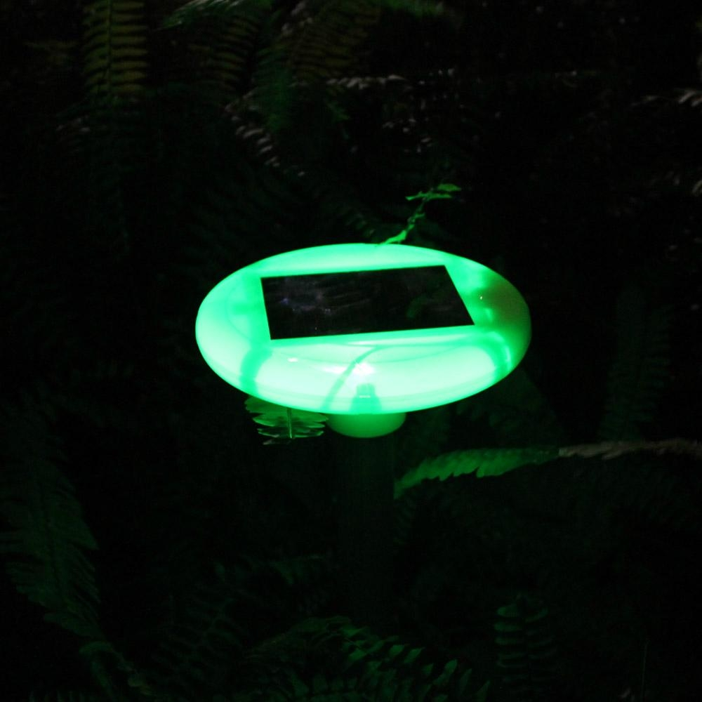 Solar rodent repeller with bright garden light 8