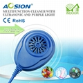 Aosion Ultrasonic Cleaner with Purple Light