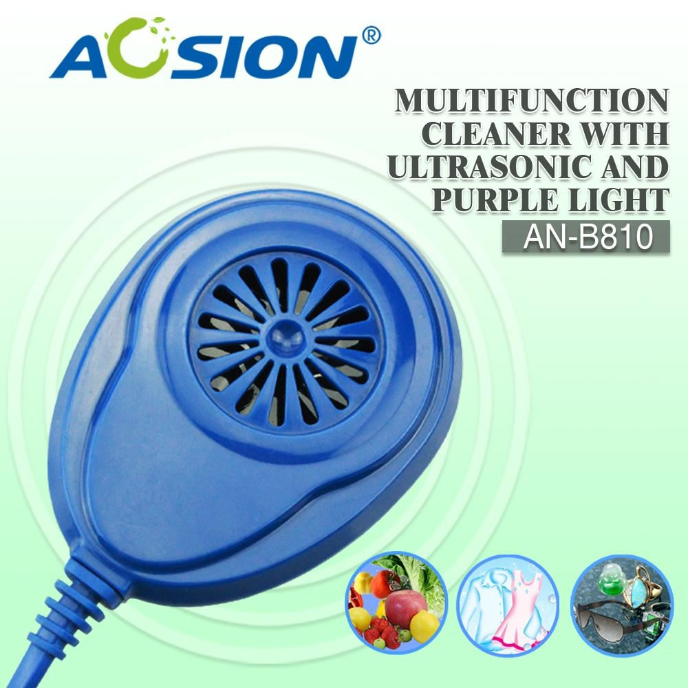 Aosion Ultrasonic Cleaner with Purple Light 2