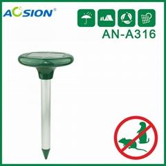 Aosion Sonic Solar Mole Repeller  rodent deterrent