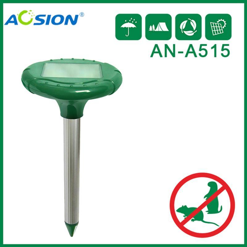 Aosion 變頻帶電池門太陽能驅鼠器