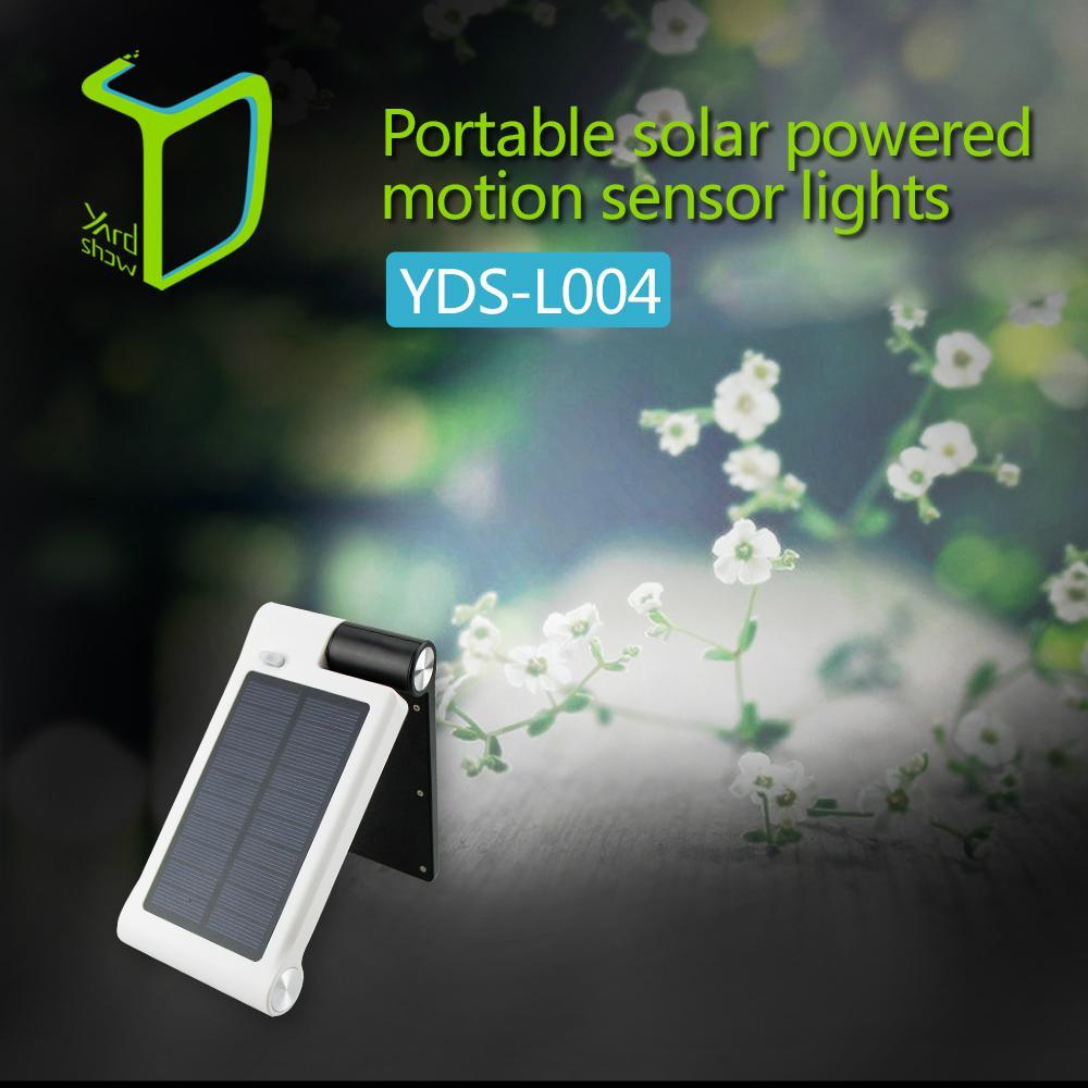Yardshow 便攜式天陽能智能花園燈門牌燈 1