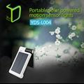 Yardshow Portable intelligent solar light for garden