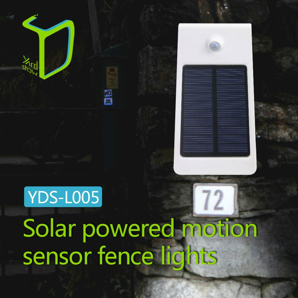 Yardshow 智能紅外光控感應太陽能花園裝飾燈 1