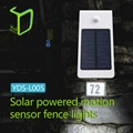 Yardshow Patent waterproof solar powered garden lights