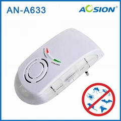 Multifunction  ultrasonic and electromagnetic pest repeller