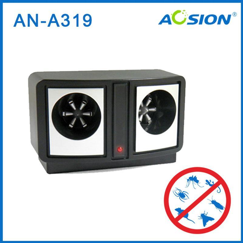 Aosion 双超声音箱驱鼠器 1