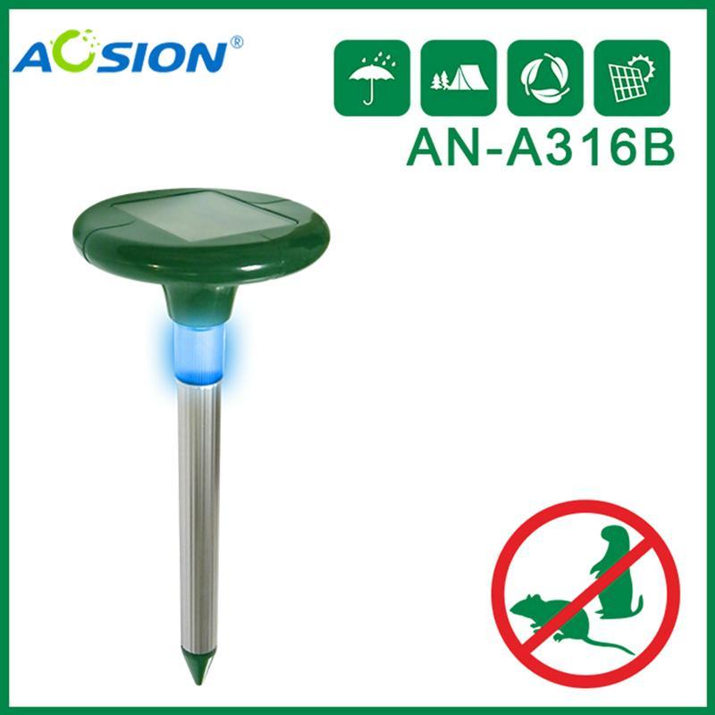 Aosion 带灯太阳能驱鼠器 1