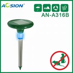 Aosion 帶燈太陽能驅鼠器