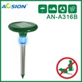 Aosion Solar mole repeller with LED