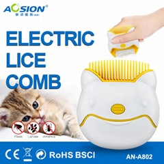 Aosion electric lice comb for cat dog pets