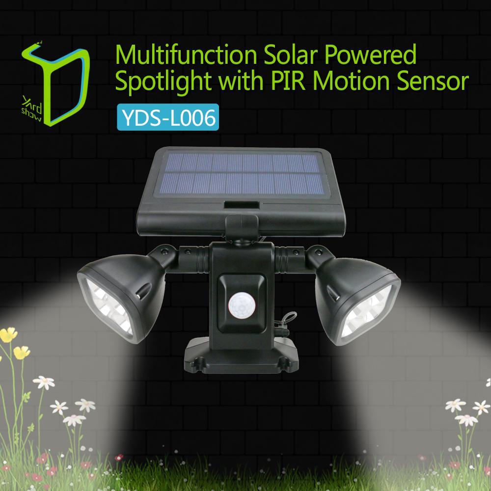 New style Light-operated brightest solar motion sensor light