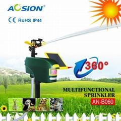 Smart Multifunctional Sprinkler PIR sensor outdoor fox birds dog cat repeller