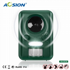 Aosion Passive Infrared Multifunction Repeller Use Strong Ultrasonic Signal