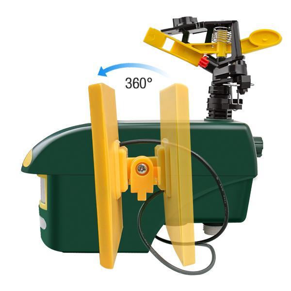 Smart Multifunctional Sprinkler PIR sensor outdoor fox birds dog cat repeller 4