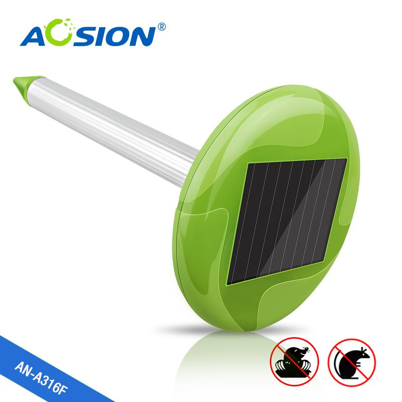 太阳能带花园灯驱鼠器 1
