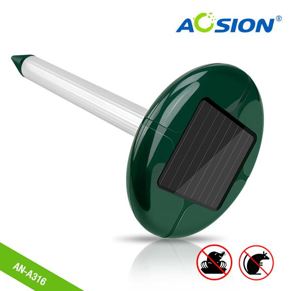 Aosion Courtyard use Frequency coversion solar mole/vole/gopher repellent 1