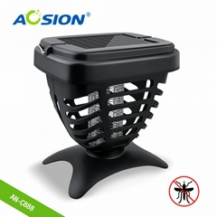 Aosion silicone mosquito band solar energy insect killer lamp