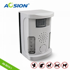 Aosion Indoor Outdoor Plug& Battery Powered Ultrasonic Pest Repeller