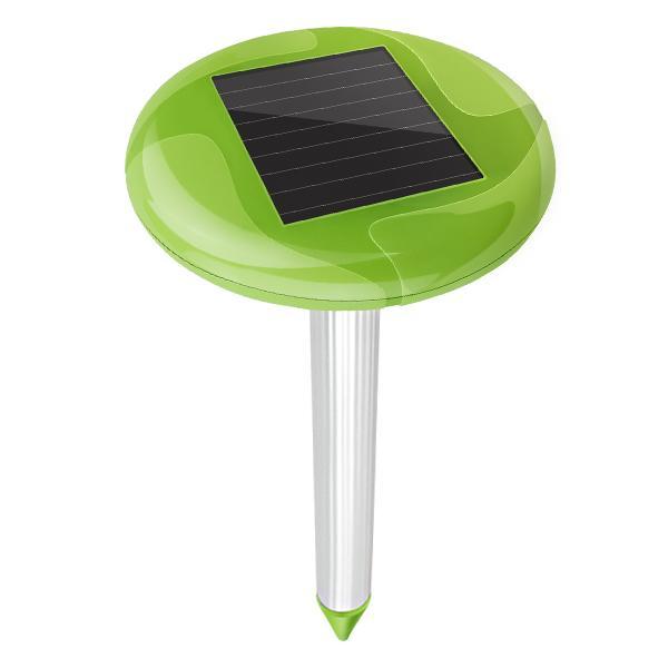 Smart Home Solar Mole Repeller with Beautiful Garden Light 2