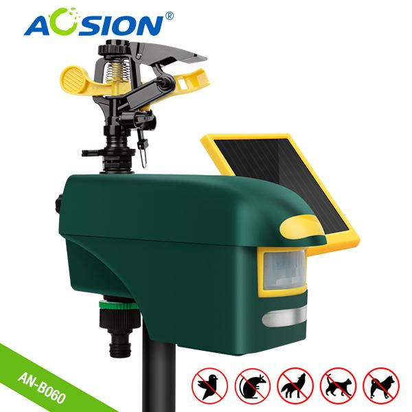 Smart Home Sprinkler PIR sensor outdoor fox birds dog cat repell 1