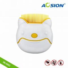 新款宠物猫狗用电动虱子梳