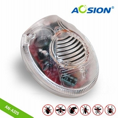 Aosion Quality Assurance indoor eletromagnetic spider repeller with night light