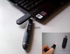 Computer laser pen