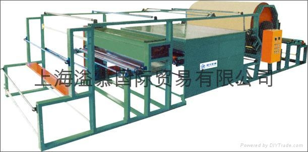 HOT MELT DOT (SPREAD POWDER) LAMINATING MACHINE