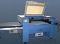Movable work table laser cutter