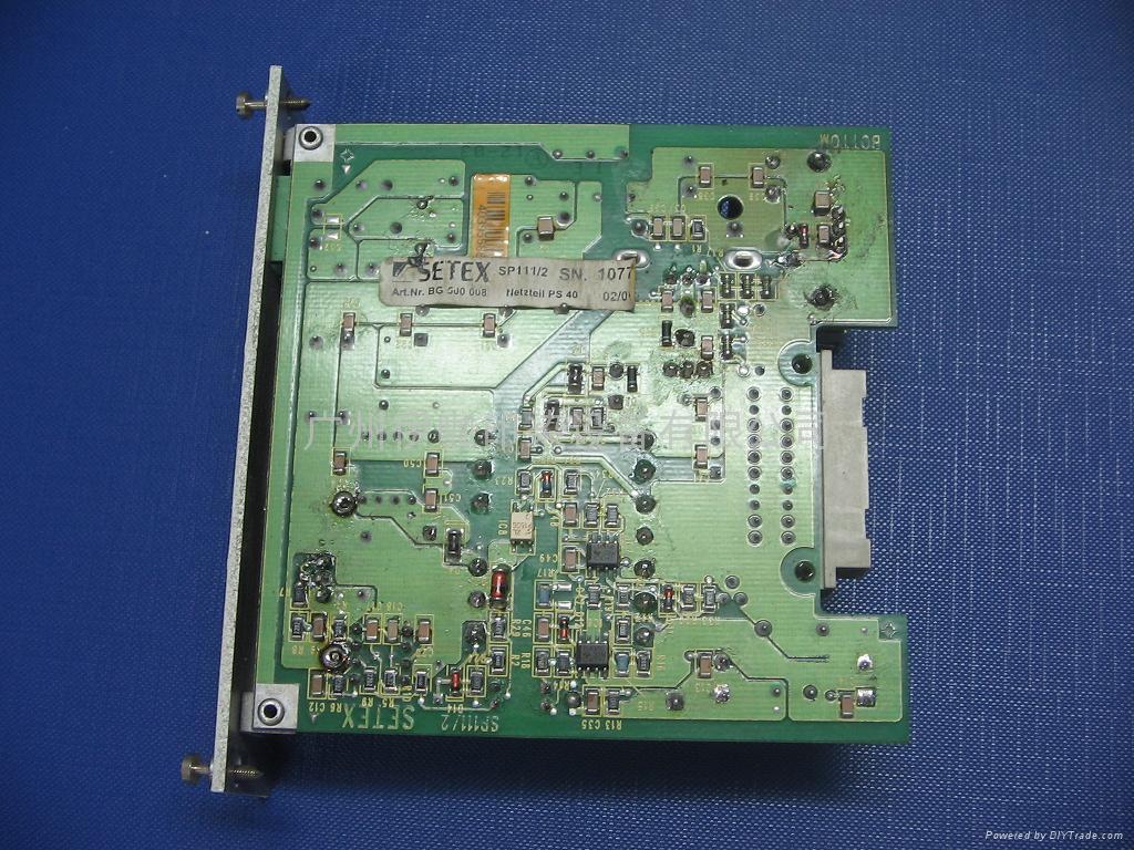 维修智达纺织电脑SETEX电脑PLC 2
