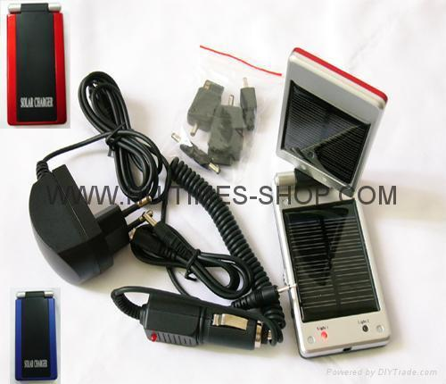 Mobile phones Solar Charger 2600MAH 2