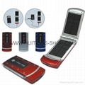 Mobile phones Solar Charger 2600MAH 5