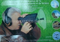 Natural Bird&Animals Observing Telescope Electronic Listening and Digital Record