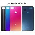 Original Back Battery Cover for Xiaomi Mi 8 Lite