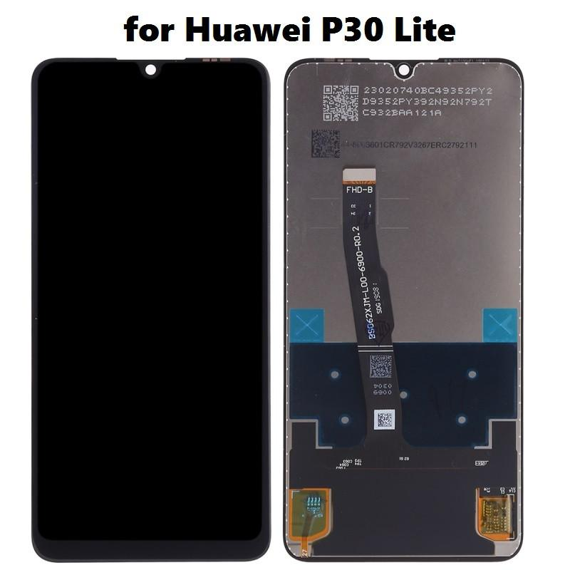 LCD Display + Touch Screen Digitizer Assembly for Huawei P30 Lite