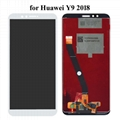 LCD Display + Touch Screen Digitizer Assembly for Huawei Y9 2018