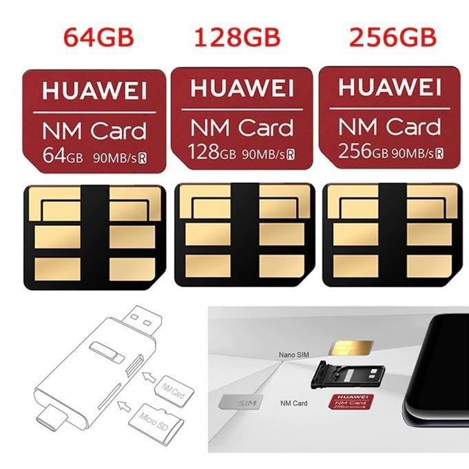 Huawei Nano Memory Card for HUAWEI Mate 20 / 20 Pro/ 20 X/ 20 RS / P30/ P30 Pro 1