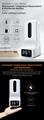 K9 Touchless Thermometer+ Automatic Sensor Sterilization Dispenser with Tripod