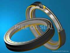 Utilized oil seal
