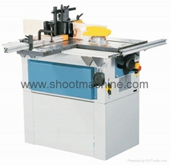 Combine Woodworking Machine with Saw and Moulder