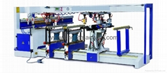 Four-Rows Multi-Boring Drilling Machine, BJK68