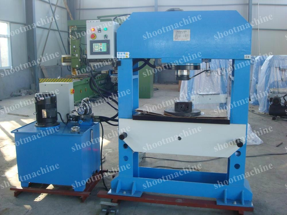 Press Machine with CNC control and manula and auto operation,SH05-HPCNC-150 1